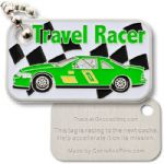 Racer (Modern) Micro Travel Tag